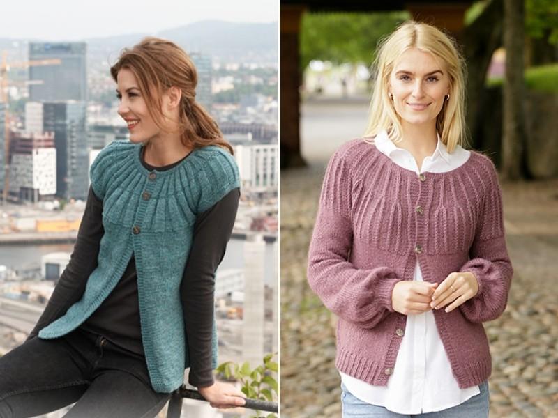 Charming Retro Jackets Free Knitting Patterns