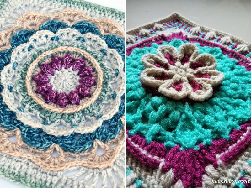 Magical Crochet Squares Free Patterns