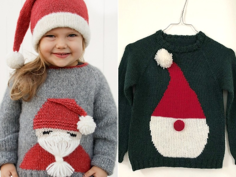 Santa's Favorite Sweaters Free Knitting Patterns