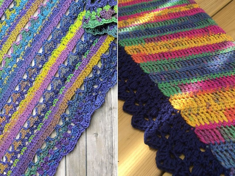 Free Crochet Patterns Shawls with Stunning Edging