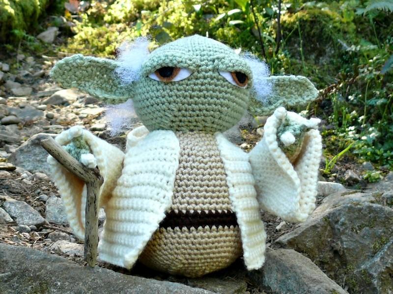 Sweet Yoda Amigurumi Free Crochet Patterns