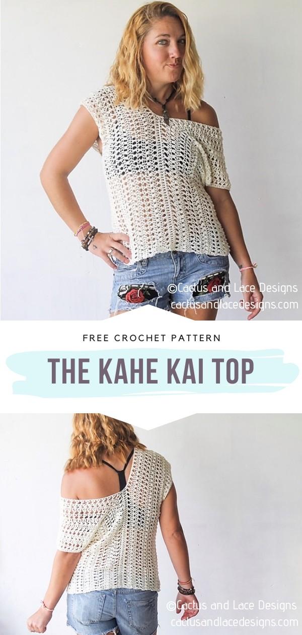 Crochet Lacy Top