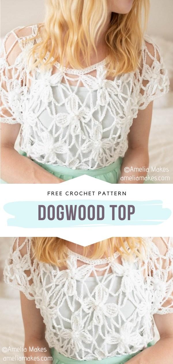 Lacy Crochet Top