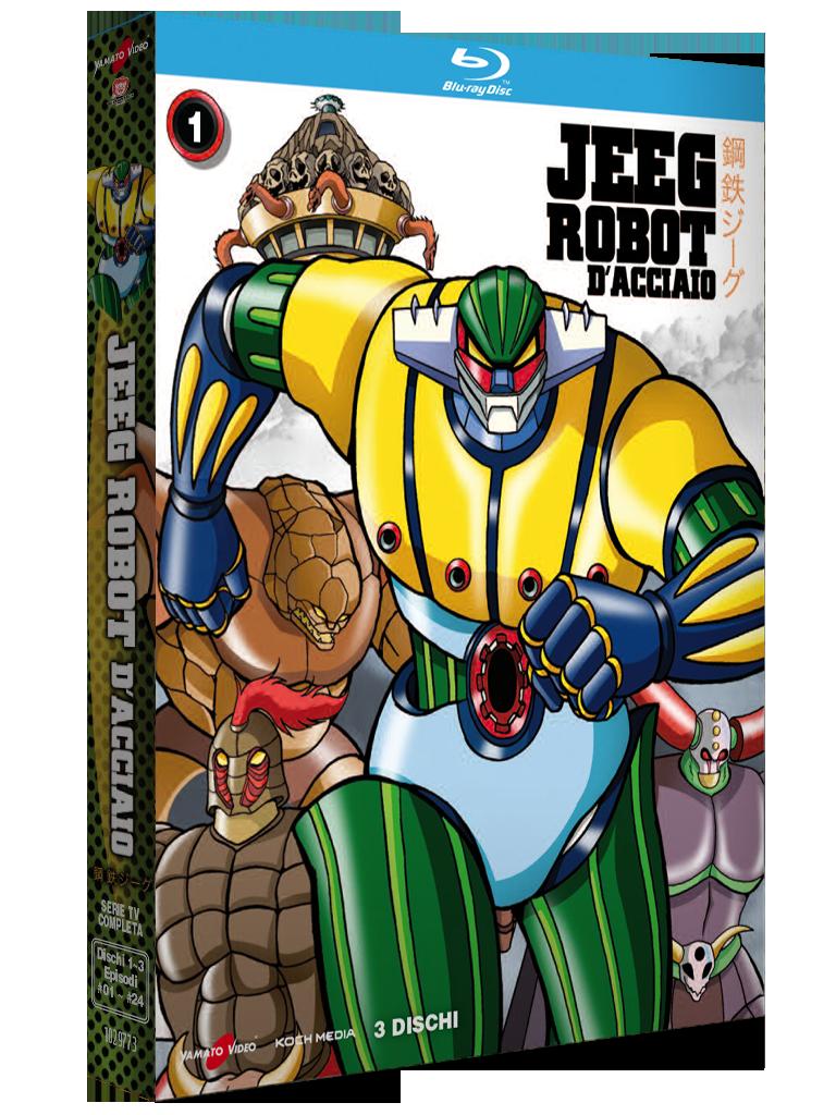 Jeeg Robot D'Acciaio – Volume 1