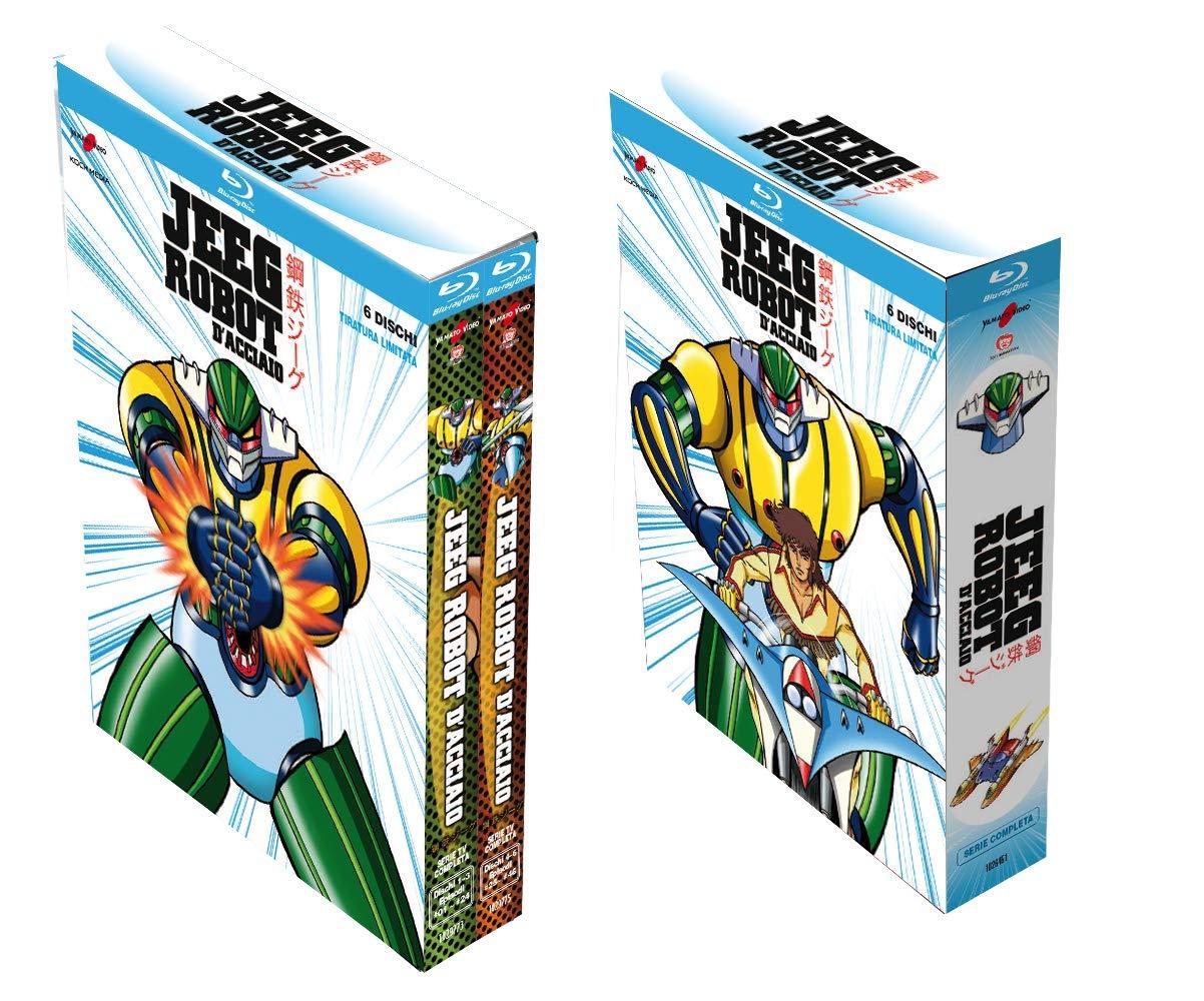 Jeeg Robot D'Acciaio – Serie Completa