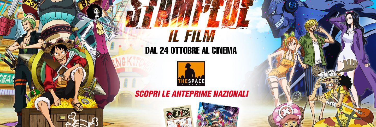 One Piece: STAMPEDE – Il Film – Anteprime nei The Space Cinema