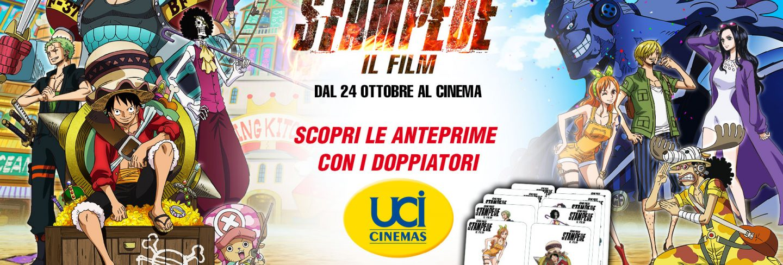 One Piece: STAMPEDE – Il Film – Le attività negli UCI Cinemas