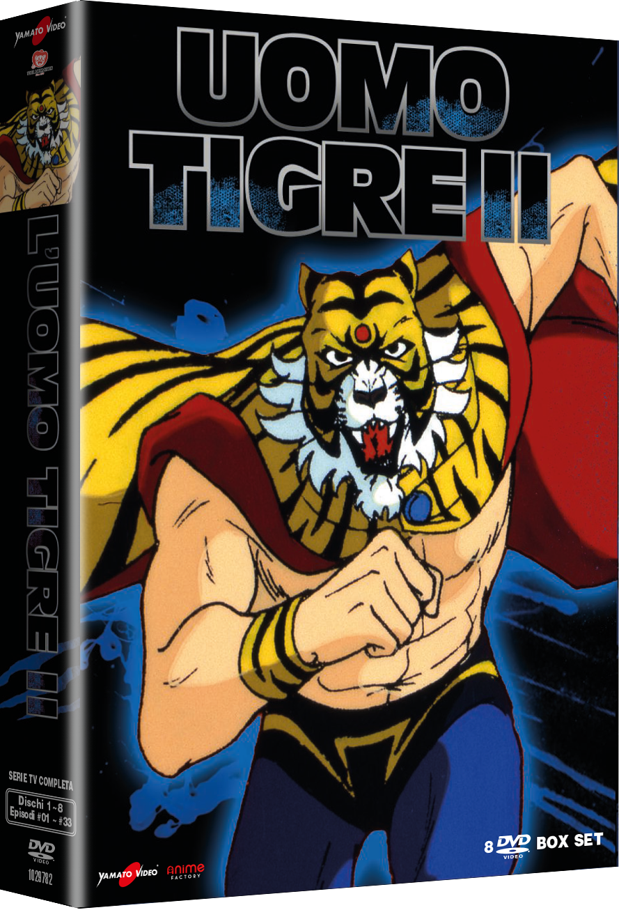 Uomo Tigre – Il Campione 2 – Serie TV Completa