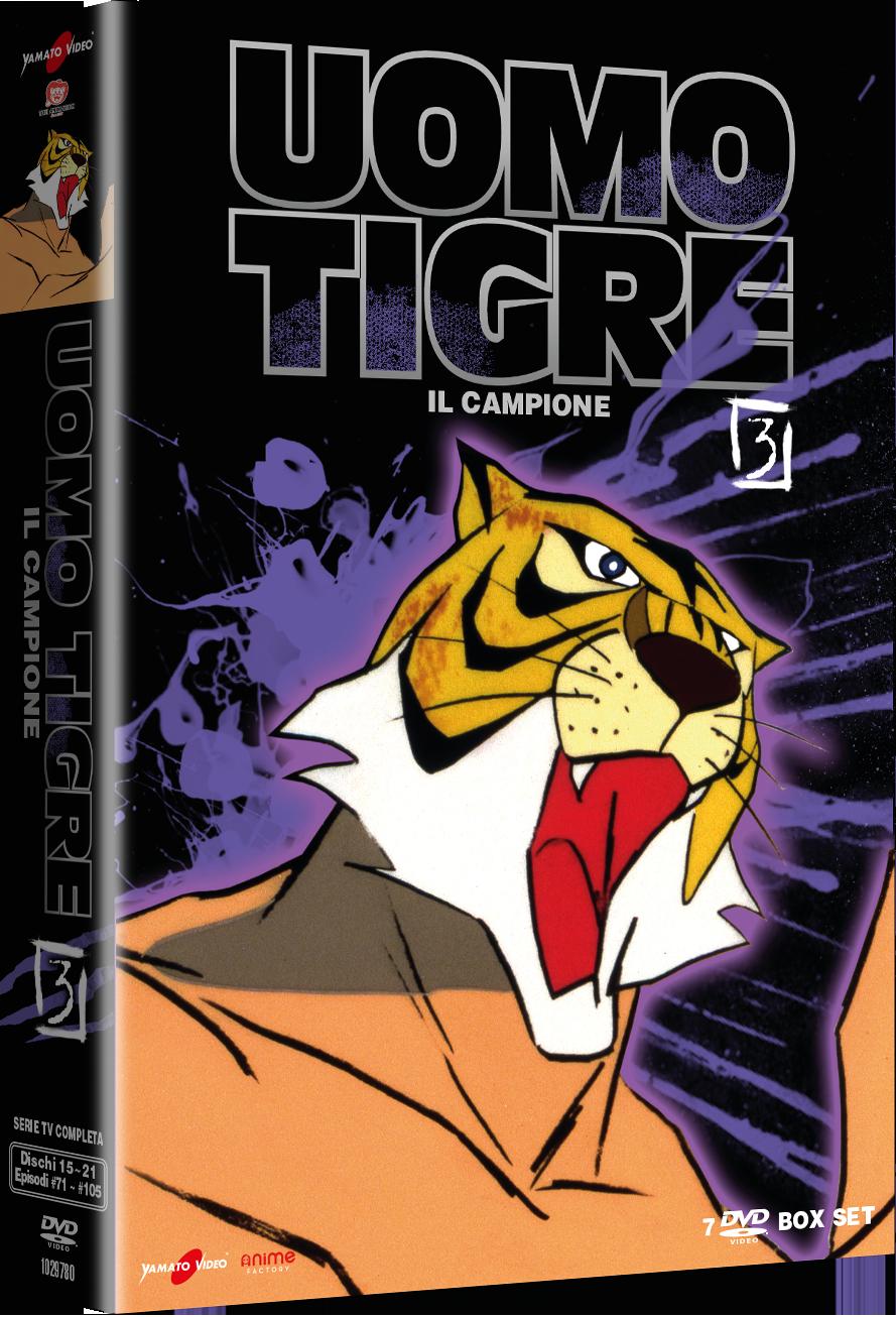 Uomo Tigre – Il Campione – Volume 3