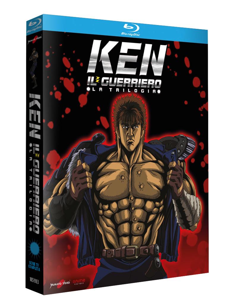 Ken il Guerriero – La Trilogia – Serie TV Completa