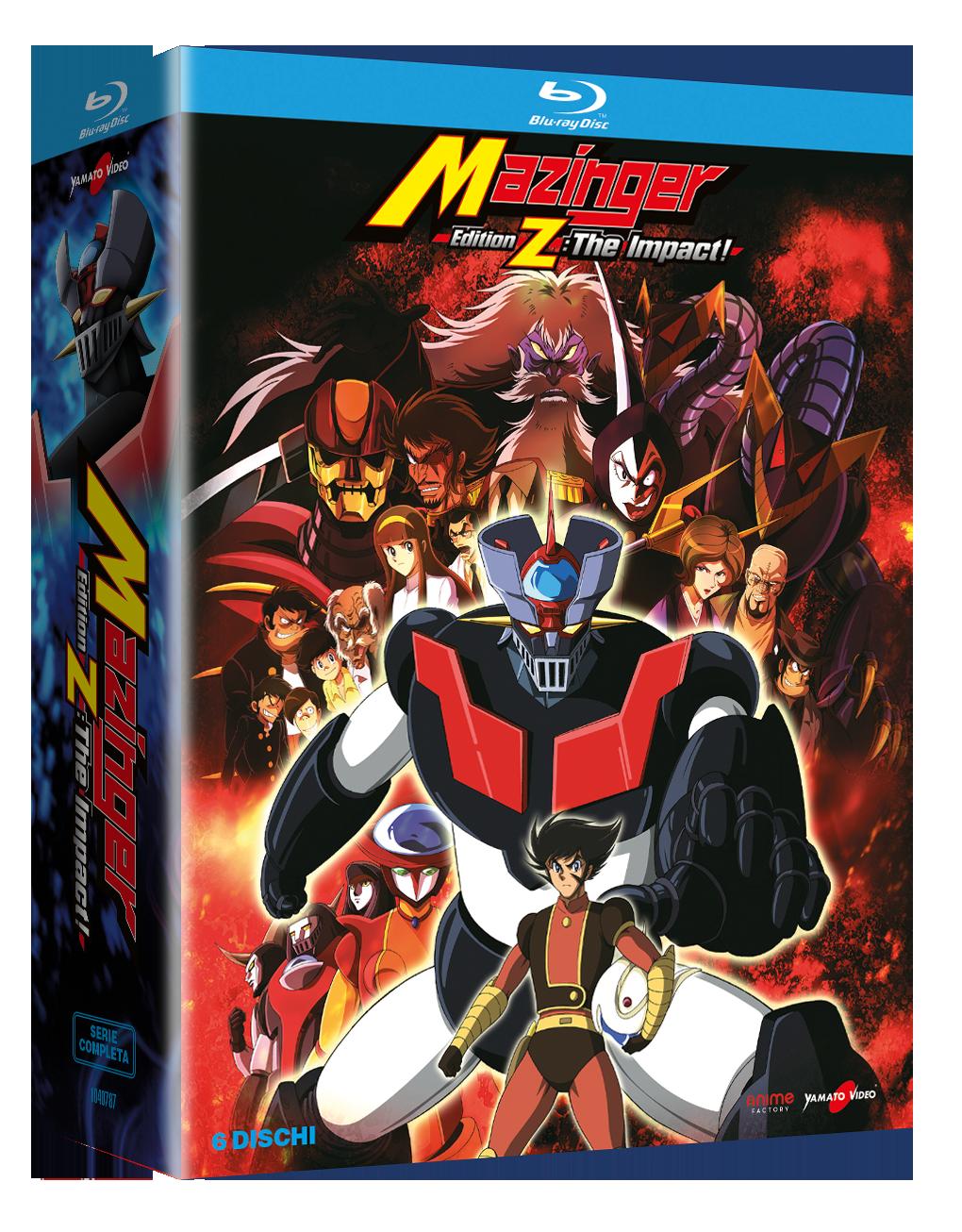 Mazinger Edition Z – The Impact! – Serie Completa