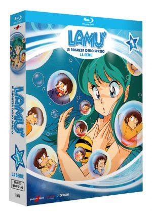 Lamù – La Ragazza Dello Spazio – Serie TV – Volume 1