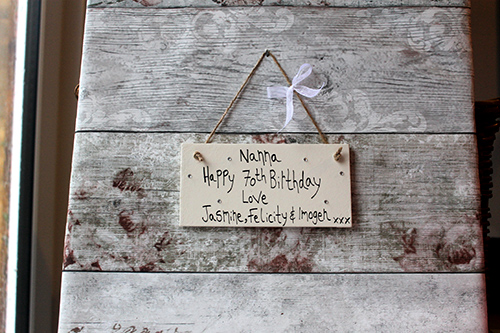 Personalised Plaques For Grandparents Happy Birthday Nanna