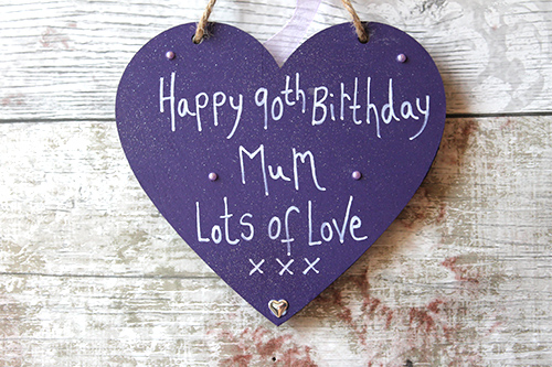 90th Birthday Gift Ideas Mum Heart