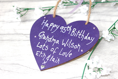 Personalised 95th Birthday Gift Ideas For Grandma