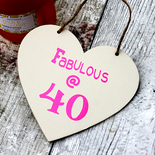 Flirty 40 Make Great 40th Birthday Gifts For Women