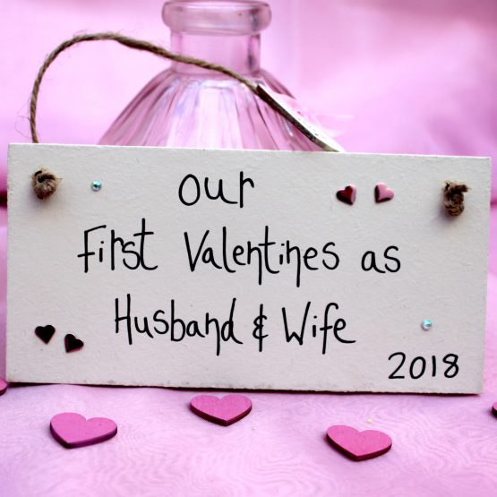 Online Valentine personalised gift