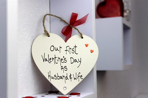 1st Valentine S Day As Husband And Wife Madeat94