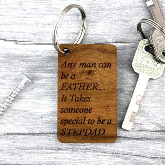 Stepdad Keyring
