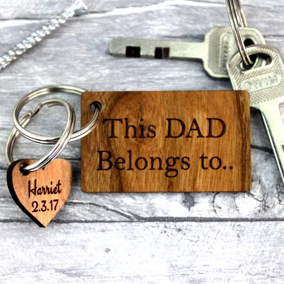 this dad belongs to keyring
