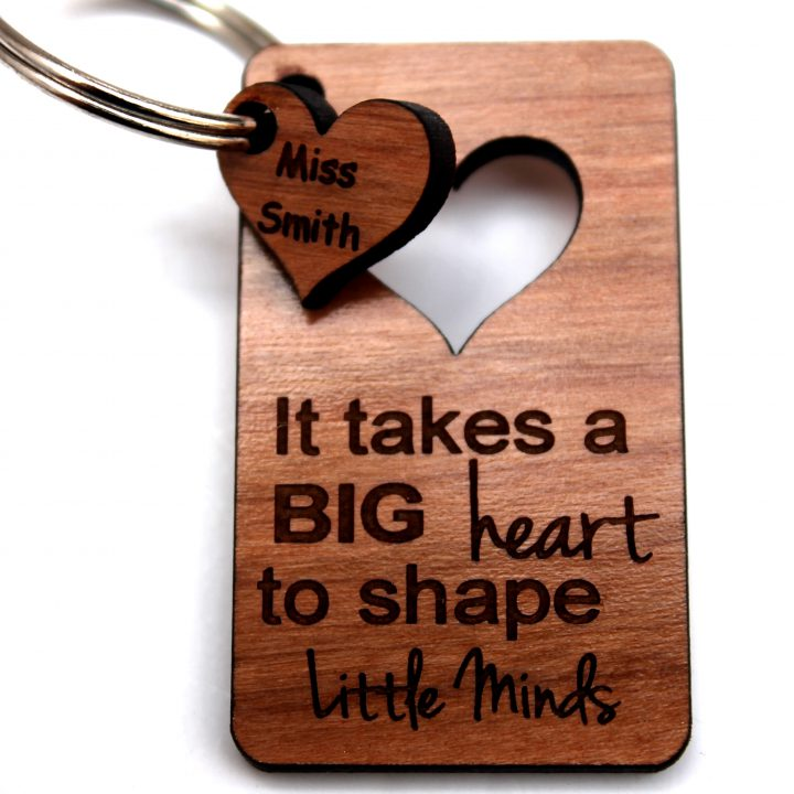 keyring_rectangle_teacher_Big_heart_minds