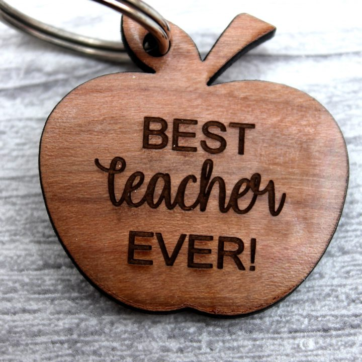 Keyring-Apple-Best-Teacher