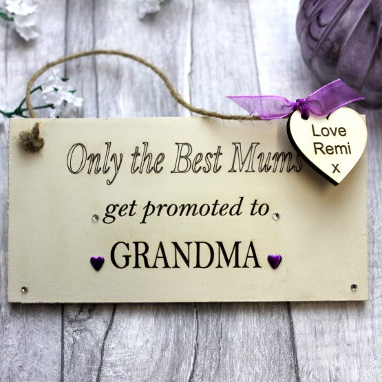 Grandparents Kitchen Gift Sign