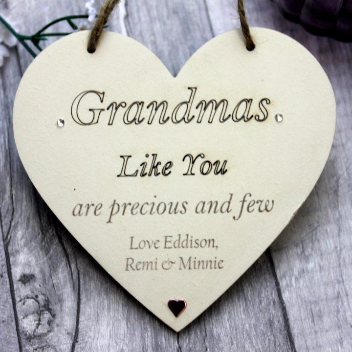 Grandma Gift Heart