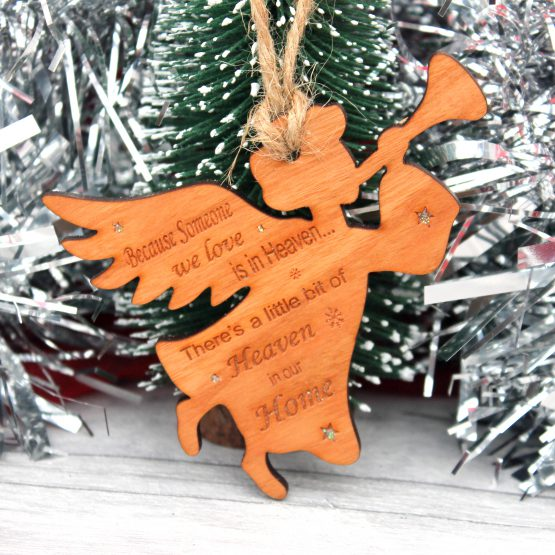 memorial christmas ornament personalised