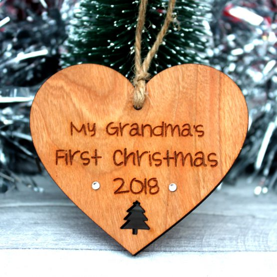 grandma 1st christmas tree decoration