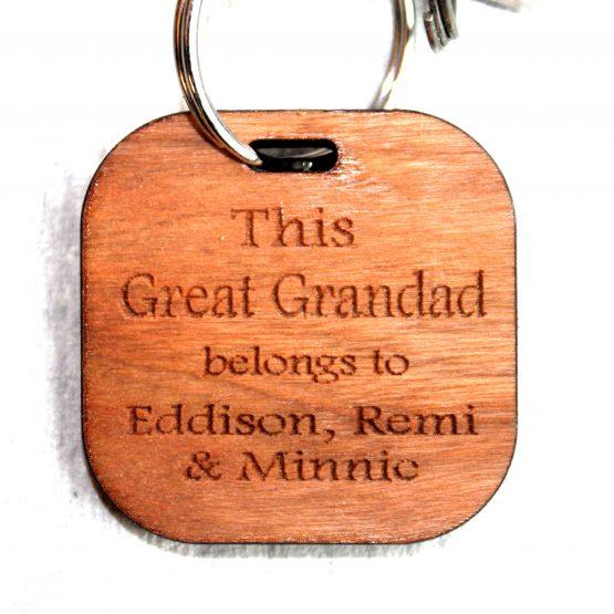 Great Grandad Keyring
