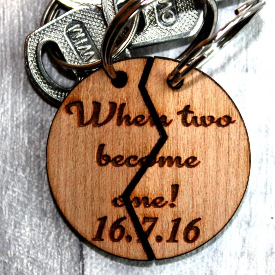 when two becomes one keyring