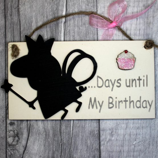 peppa pig countdown plaque