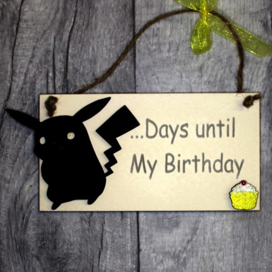 pikachu birthday countdown