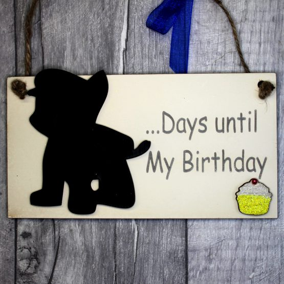 Chase birthday countdown