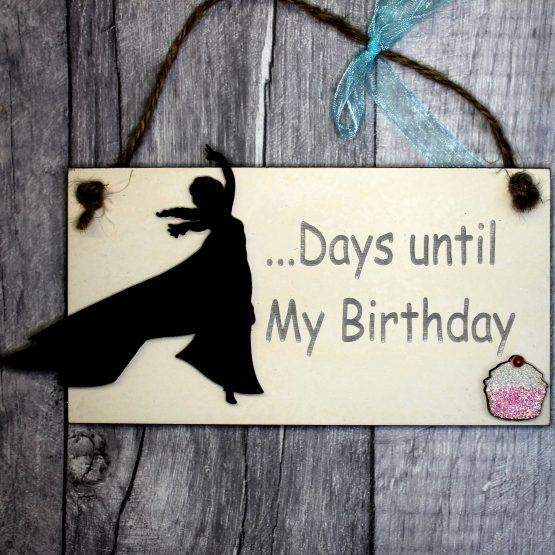 Elsa birthday countdown