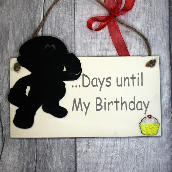 super mario birthday countdown