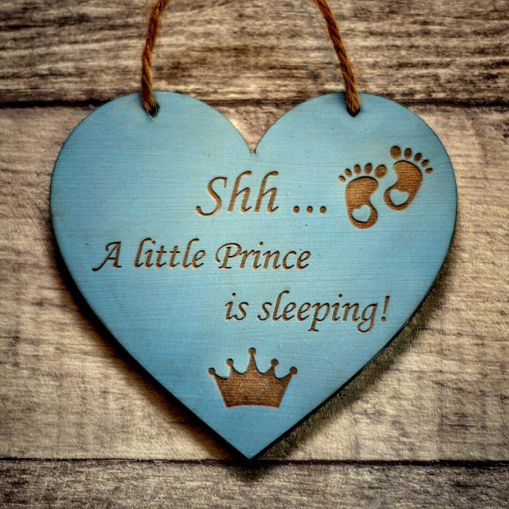 little prince sleeps here