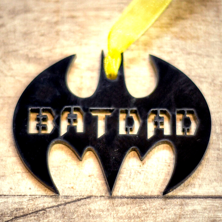NEW BATMAN WORD ART PERSONALISED GIFT FOR HIM ON FATHER/'S DAY DAD DADDY FATHER