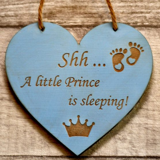 prince sleeps here heart