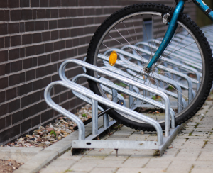Bicycle racks for Fort Worden State Park