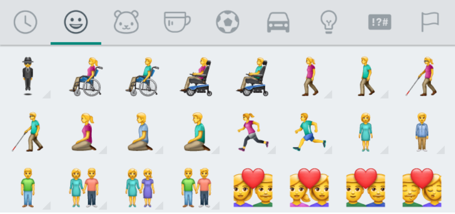 Emojis Personas con Discapacidad