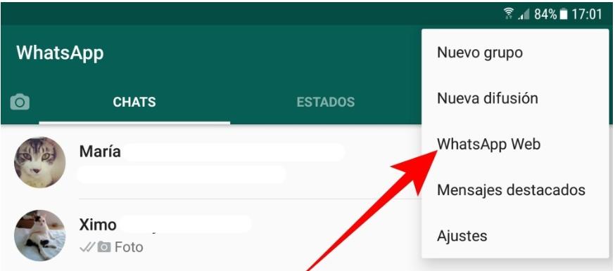 Revisa tus sesiones de WhatsApp web abiertas