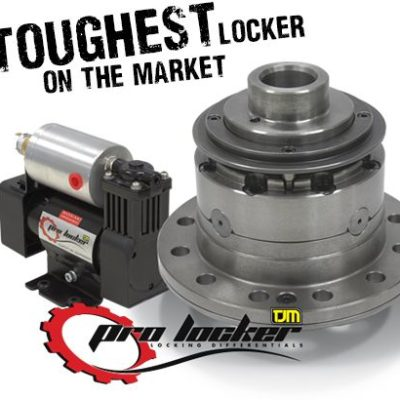 Toyota Landcruiser 100 Series Pro Locker – Air Activated Diff Lock (Front or Rear)