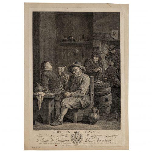 David Teniers print etching