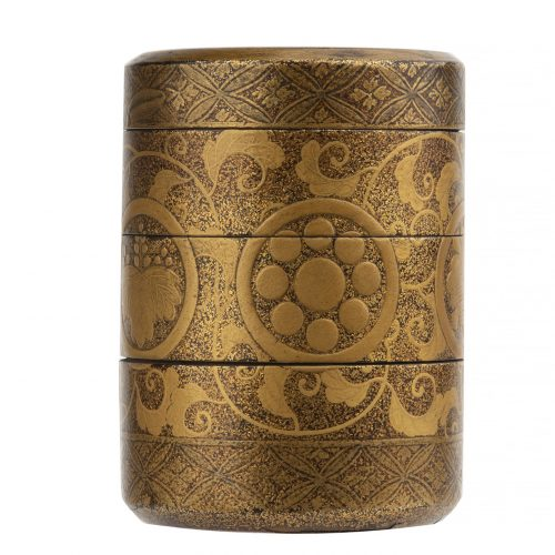 trinket box Japanese home accent Edo period