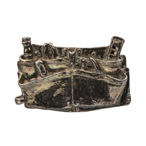 tool belt silver jewelry pin