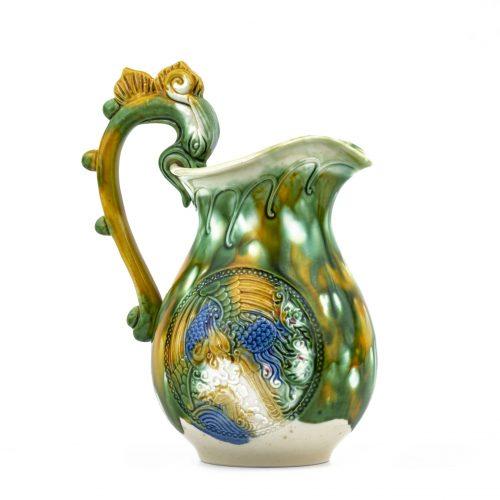 Sancai pottery ewer