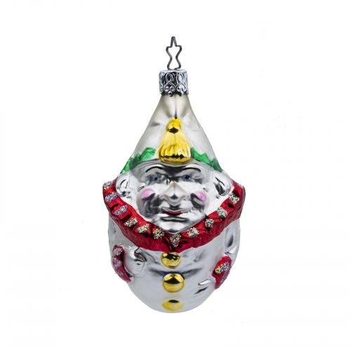 Christmas ornament clown
