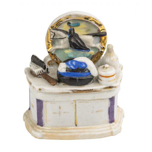 English trinket box Victorian home accent